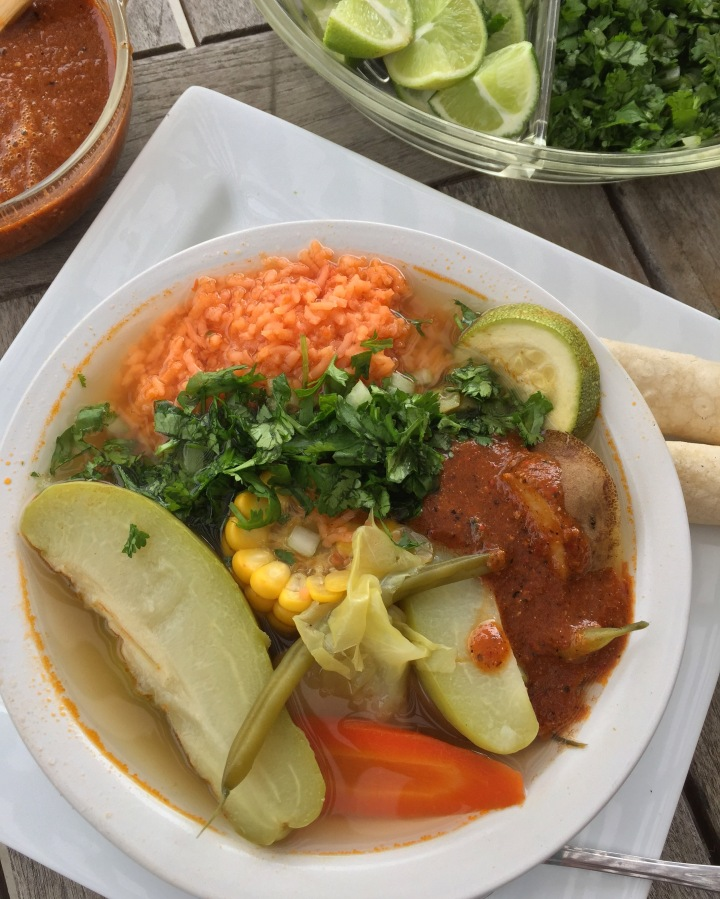 Rustic Mexican Vegetable Soup